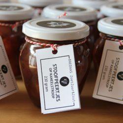 Streekproducten-Breda vruchten op siroop
